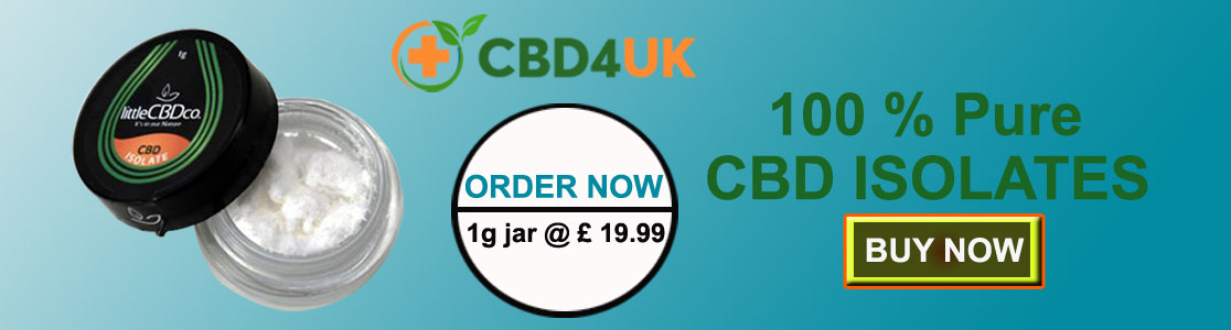 Buy CBD Isolate in the UK Affordably
