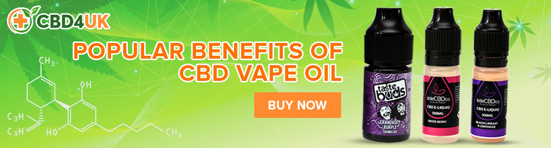 Popular Benefits of CBD Vape Oil