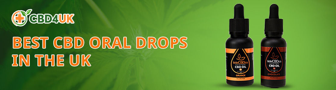 Buy CBD Oral Drops in the UK