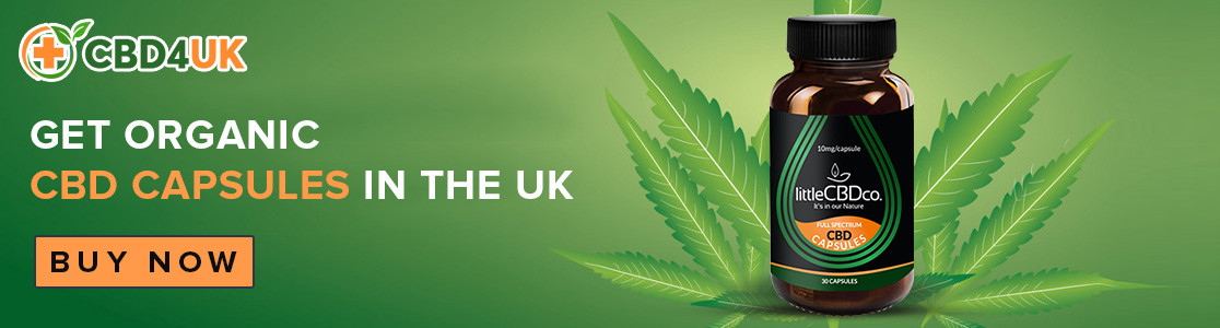 Get Organic CBD Capsules in the UK