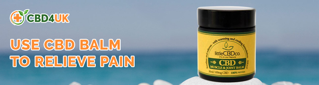 Use CBD Balm to Relieve Pain